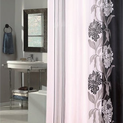 Other Brands - Carnation Home Fashions Chelsea Fabric Shower Curtain - SC-FAB/84/CH/16 - Shop for Shower Curtains from Hayneedle.com! Modernly elegant the Carnation Home Fashions Chelsea Fabric Shower Curtain features slim stripes and a large scale floral design in your choice of sophisticated colors. A smart way to dress your bath this shower curtain is made of machine-washable polyester fabric.About Carnation Home FashionsYour home your style Carnation Home Fashions believes in this motto. That s why this home fashions company offers a wide range of on-trend and classic products designed for style and convenience. Perfect for matching today s busy lifestyles their bath products meet your needs in style. Carnation Home Fashions is based in Newburgh New York.