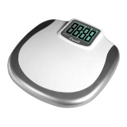 Escali Large Display Bathroom Scale - If you're a really tall person, you'll love this bathroom scale. Rather than having to uncomfortably bend down to read the your weight, this scale features extra-large digits that can be easily seen from any height. Yes, that means short-sighted folks can also check it out, too.