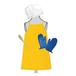 Sassafras - The Little Cook Softgoods Set - Kids and adults love to dress the part. Sometimes that's half the fun!