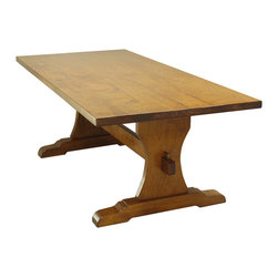 Patagonia Legacy - Nizza Dining Table DF668 - This dining table comes in Miel Antique finish.