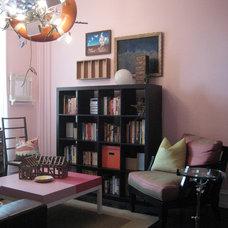 Eclectic Living Room Arts Salon 1