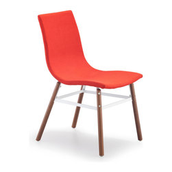 Zuo Modern - Zuo Modern Stavanger Side Chair Tangerine Fabric [Set of 2] - Side Chair Tangerine Fabric belongs to Stavanger Collection by Zuo Modern Side Chair (2)