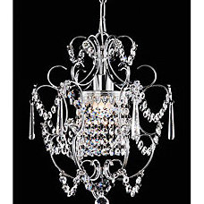 Chandeliers Chrome Crystal Chandelier