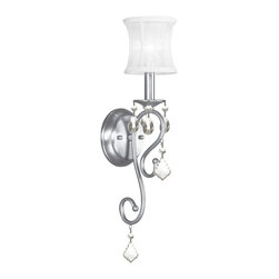 Livex - Livex Newcastle Wall Sconce 6301-91 - Finish: Brushed Nickel