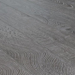 Toklo - Toklo Laminate - 12mm Collection - [16.5 sq ft/box] - Charleston Grey -The Toklo 12mm Collection offers a wide array of unique colors with a textured surface that will enhance any interior. Style meets durability with this laminate flooring _ the core is made of high-density wood fibre that is extremely dent and moisture resistant.     This floor is AC4 rated which is suitable for any residential use as well as commercial areas, CARB-ATCM - Phase 1 compliant, and HDF-core laminate. The easy-to-install click lock locking system makes installation a breeze, combine this with a 25 year residential and five year commercial warranty and Toklo is a clear choice for your laminate floors.