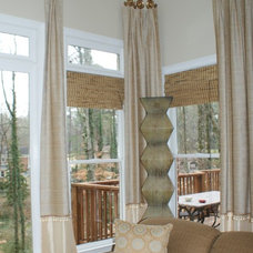 Traditional Window Treatments by Norwood Interior Designs