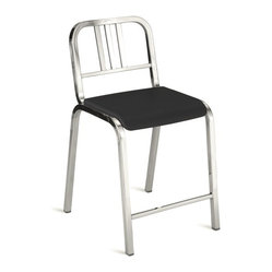 Nine-0 Stacking Counter Stool, 3-Bar Back