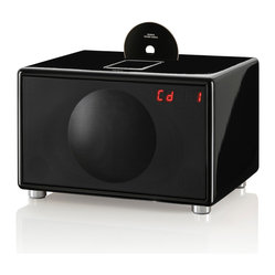 Large All-In-One Hi-Fi For CD, iPod/iPhone, Radio and More, Black
