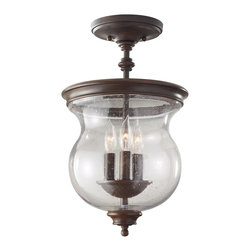 Murray Feiss - Murray Feiss Pickering Lane Traditional Semi Flush Mount Ceiling Light X-ZBTH903 - Murray Feiss Pickering Lane Traditional Semi Flush Mount Ceiling Light X-ZBTH903FS