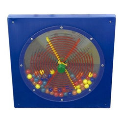 Anatex Busy Cube - Paddle Wheel Wall Panel - In a waiting room school or your home playroom the Anatex Busy Cube - Paddle Wheel Wall Panel will keep your child entertained. The knob is perfect for little hands and bright colors attract your child and hold her attention. With a space-saving wall-mounted design this activity panel is great for small play areas. About Anatex:The first toy company to produce the Rollercoaster wire bead maze frames in North America Anatex has continued their practice of bringing kid-favorite educational toys to the market. Using high-quality materials they produce innovative award-winning products to keep both parents and children happy. Their Rollercoaster toy has won the Parents' Choice Classic award and is also a Dr. Toy Best Classic Toys winner. With high-quality materials and innovative products Anatex is a trusted leader in the educational toy market.