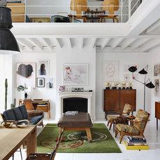 Modern  The Madrid Home of David Delfin and Gorka Postigo Yatzer | Apartment Therapy San