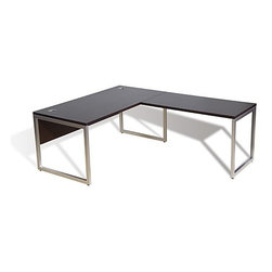 Jesper Office | 9000 Collection Office Desk with Return -