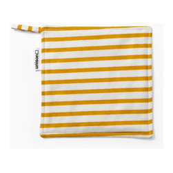 Sailor Pot Holder, Mustard - Sometimes something as simple as a pot holder can make my oven sing with glee. You, ma'am, will not be shoved in the drawer.