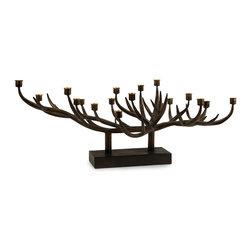 iMax - Branch Candleholder - Interesting Branch taper candleholder centerpiece.