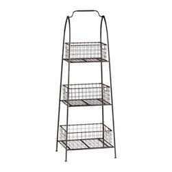 Cyan Design - Cyan Design 04725 Essex Basket Stand - Cyan Design 04725 Essex Basket Stand