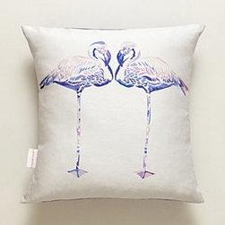 Chloe Croft - Flamingo Pillow - *By Chloe Croft