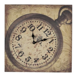 """Sterling Industries - Sterling Industries 53-8501 1.5"""" Height Clock - Specifications:"""