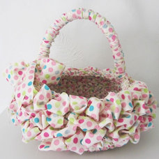 Contemporary Baskets by Etsy