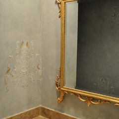 traditional powder room by Mary Anne Merfeld - Allied Member ASID