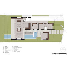Modern Floor Plan by Horst Architects