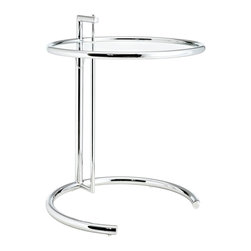 LexMod - Eileen Gray Side Table - The Eileen Grey Table that is an elegant combination of style
