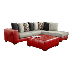 Chelsea Home Furniture Clarion 2 Pc Sectional Sofa By