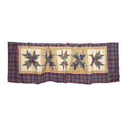 Patch Quilts - Patch Magic Forever Curtain Valance 54 x 16-Inch - - Beautiful patchwork Valance.Window Treatments for ensemble and Bedding items from Patch Magic. Machine washable. Line or Flat dry only  - Finish/Color: Multiple Color  - Product Depth: 54  - Product Width: 54  - Product Height: 16  - Material: 100% Cotton Fabric Patch Quilts - CVFORV