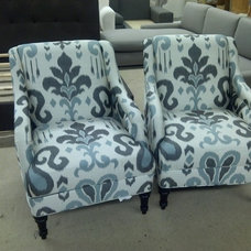 Eclectic Armchairs And Accent Chairs by Monarch Sofas
