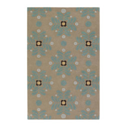 Emma At Home EMM19905 Designer Rug - 6' x 9' - Award-winning designer Emma Gardner, chief designer and principal at emma gardner design, has been creating striking and vibrant rugs for consumers, interior designers and architects since 2002 from her Litchfield, Connecticut studio.