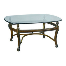 "Hammary - Hammary Suffolk Bay Square Cocktail Table - Square cocktail table belongs to Suffolk Bay collection by Hammary the best ideas in designs from around the world - combined with the finest materials available - meet in this new collection to create an unforgettable look for your home. ""Suffolk Bay"" was inspired by the stately plantations of 19th century British west indies, a colonial period that married the furniture styles of Georgian England with the materials of island living. The result: style mixed with durability. Crafted from Honduras pine and finished in a clear antique tone, select items feature padded leather and woven veneer inserts. The hardware is crafted from the finest antique brass, adding a note of authenticity. Most items are highlighted with a carved pineapple motif or diagonal basket weave panels. Whether you live on a south pacific island, a southern plantation, or in a neighborhood with the joneses, ""Suffolk bay"" from Hammary promises to add class and unsurpassed style to your decor."