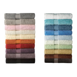 Etoile Bath Towel by Yves Delorme - Cotton terry towels and mats, blended with modal for extra absorbency, softness and luster.