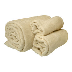 "Silk Towels - Bath Towel - 28"" x 56"" - Pure silk indulgence in the form of a luxurious bath towel that soothes, pampers, and pleases the senses. Composed of lush silk pile, the Silk Towels gently wick away moisture while caressing your skin with 18 essential amino acids with nutrients to counter the effects of aging on the skin. The ultrasoft silk of these premier towels becomes ever softer with every wash, making them a favorite among your pampering bath accessories."
