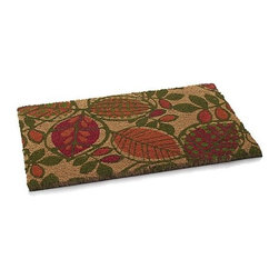 Leaves Doormat - This leaf-design doormat is perfect for autumn. And it's very welcoming too.