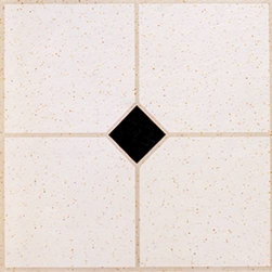 "NATIONAL BRAND ALTERNATIVE - 12"" X 12"" FLOOR TILE #6855A - No Wax 