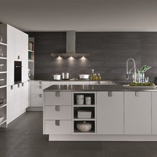 Contemporary Kitchen Cabinetry by SieMatic Mobelwerke USA