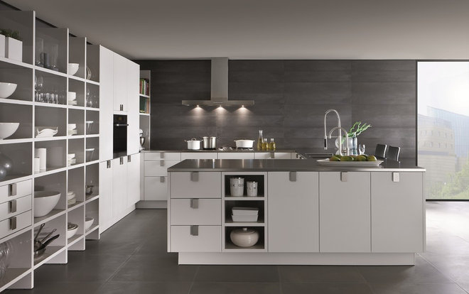 Contemporary Kitchen Cabinets by SieMatic Mobelwerke USA