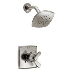 Delta Ashlyn™ Monitor® 17 Series Shower Trim - Delta Ashlyn™ Monitor® 17 Series Shower Trim, Brilliance® Stainless Finish, T17264-SS