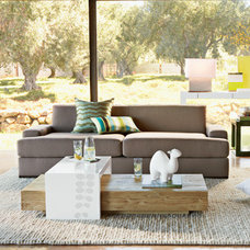 Modern Living Room by West Elm