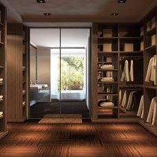 Modern Rendering by Dayoris Custom Woodwork