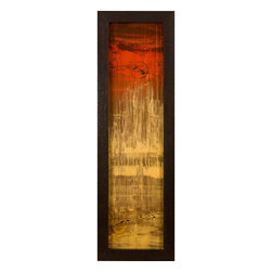 Paragon Decor - The Gold Standard II Artwork - Exclusive Reverse Hand Painted Acrylic