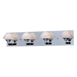 ET2 - Blossom-Bath Vanity - Blossom 4-Light Bath Vanity