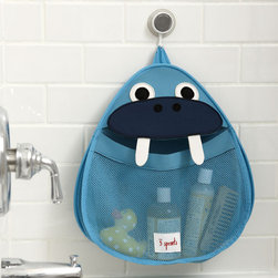 Walrus Bath Storage Hanger - This adorable walrus makes for organized tub time!