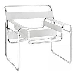 Modway Imports - Modway EEI-563-WHI Slingy Lounge Chair In White - Modway EEI-563-WHI Slingy Lounge Chair In White