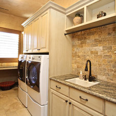 Traditional Kitchen Cabinetry by Venuti Woodworking