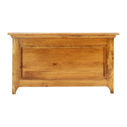 Renovators Supply - Footboards Honey Pine Footboard 45 1/2'' W Twin - Shaker Twin Footboard. Clean lines, with raised panels and molding trim distinguish our best selling pine Shaker bed. This footboard only kit comes unfinished and ready to assemble. Measures 45 1/2 in. W.
