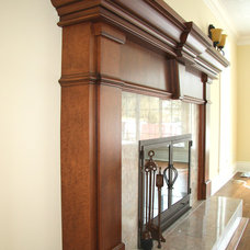 Traditional Living Room by Arts Custom Woodcrafting Inc.