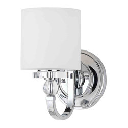 Quoizel Lighting - Quoizel DW8701C Downtown Polished Chrome Wall Sconce - 1, 100W A19 Medium