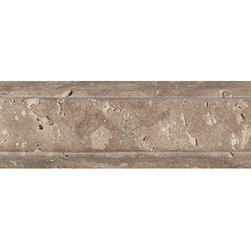 Vintage Stone in Rhine Rail Moulding - Vintage Stone - Step back in time with Vintage Stone - to a period when such opulence could only be found in the homes of royals and nobles. A soft, matte finish and naturally rounded edges give Vintage Stone the warm elegance of gently timeworn stone. A variety of sizes, including one with brick-like dimensions, allow for an almost limitless range of patterns on floors and walls. Its inherent beauty is further enhanced by a series of decorative accents that feature small, colorful stones intricately arranged to form graceful curves or room-defining angles. If you desire rooms of timeless beauty, look no further than the Old World craftsmanship of Vintage Stone.