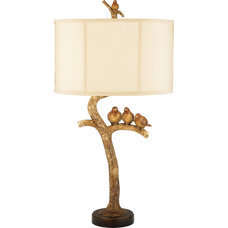 eclectic table lamps by Timeless Elements