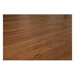 Lamton - Lamton Laminate - 12mm Narrow Board Collection w Underlay - [16.6 sq ft/box] - Burlington Oak -  Lamton brings you top-quality, AC3-rated, CARB-ATCM - Phase 1 compliant, HDF-core laminate flooring with pre-attached underlay. The pre-attached 2mm foam underlay adds convenience while installing and sound comfort underfoot. The unique combination of a glueless, click-lock system and pre-attached underlay makes for the easiest and fastest install of all.     This Lamton laminate comes with microbeveled edges, a textured finish, and also in a unique variety of colors that replicates the exotic style of hardwood species. Manufactured with European paper and ink for clearer grain patterns and superior fade resistance, these floors will bring beauty to any interior for years to come. Lamton flooring is perfect for both residential and commercial applications and is ideal for higher traffic areas.